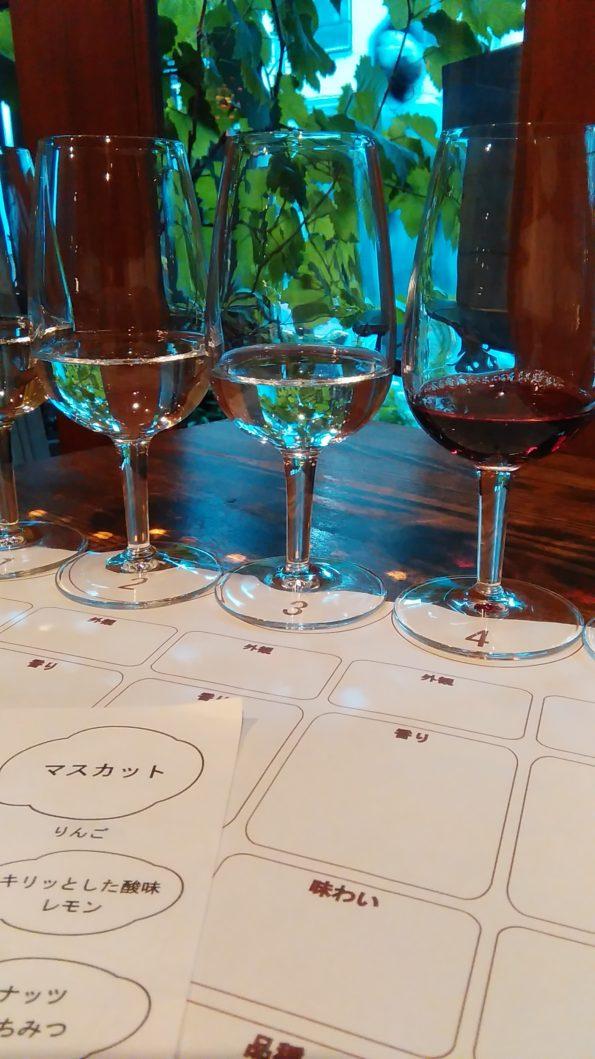 日本ワインテイスティング!