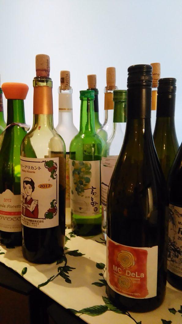 2017年日本ワインヌーボー